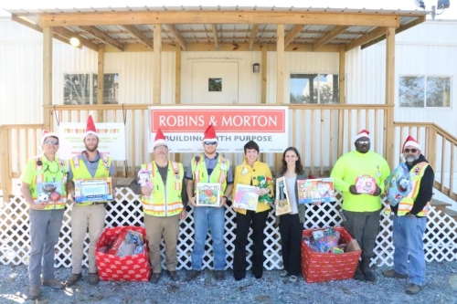 Robins & Morton Donation